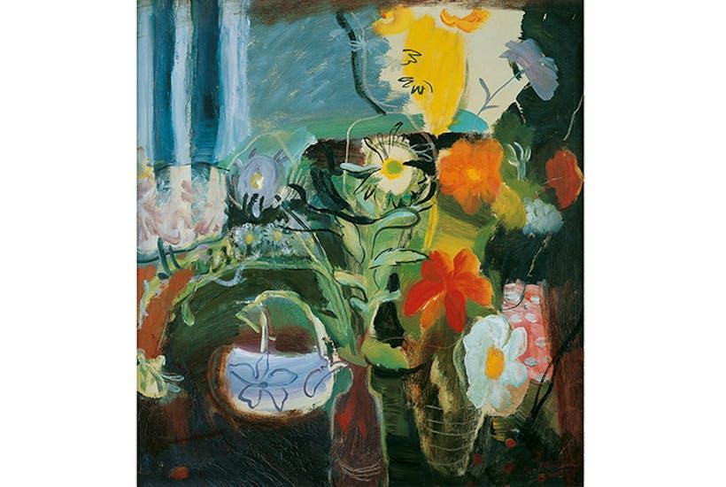 'Flowers', 1942, by Ivon Hitchens