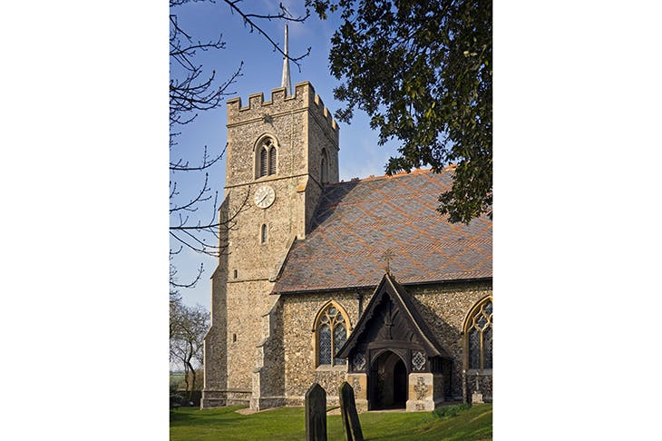 : Church of St Mary the Virgin, Brent Pelham — Christopher Hadley's Hertfordshire village