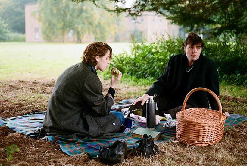 Sensational: Honor Swinton Byrne as Julie and Tom Burke as Anthony