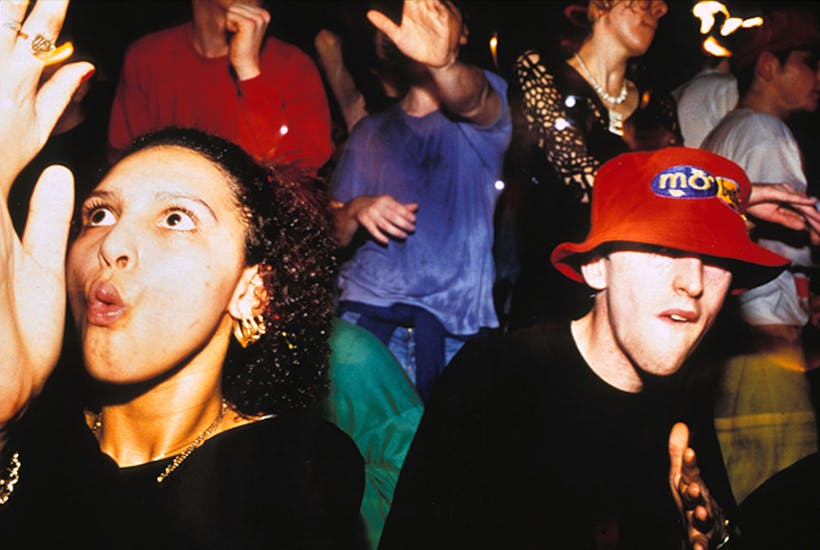 Amnesia rave, Coventry, 1991. Image: Tony Davis / Pymca / Shutterstock