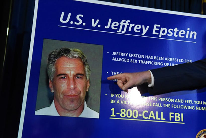 The only time I was ever spiked was when I called Jeffrey Epstein a raging paedophile