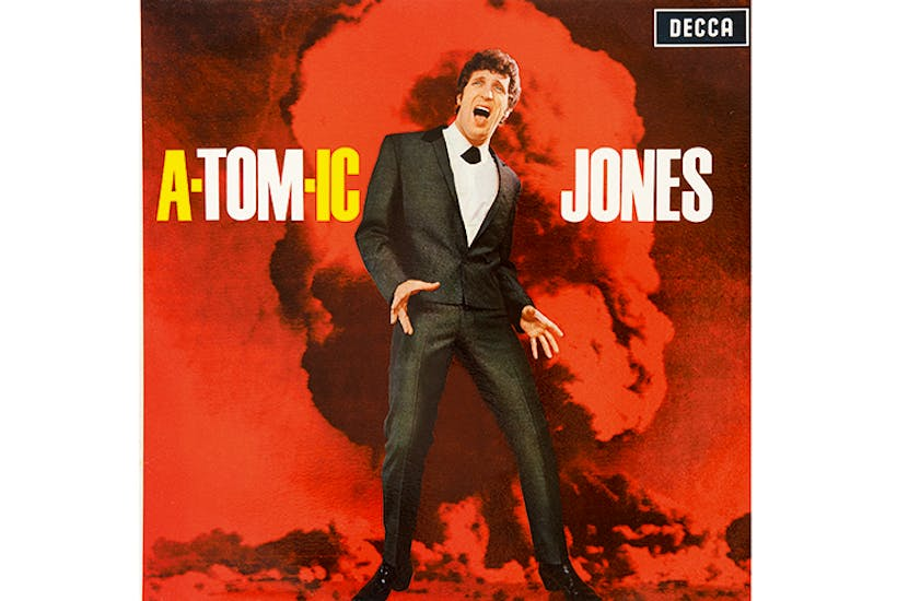 Released by Decca in 1966, Tom Jones's third album was changed for the US market, as the nuclear explosion on the cover was considered too alarming