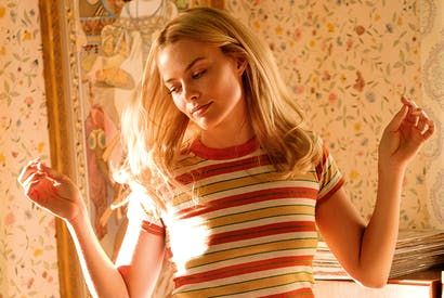 Margot Robbie as Sharon Tate in Tarantino's Once Upon a Time in Hollywood