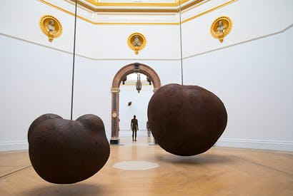 'Body' and 'Fruit', 1991/93, by Antony Gormley