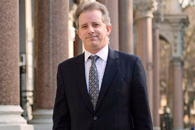 Christopher Steele progress