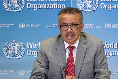 new york times WHO Chief Tedros Adhanom Ghebreyesus