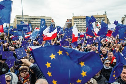 Some 80 per cent of Poles say they want to stay in the European Union
