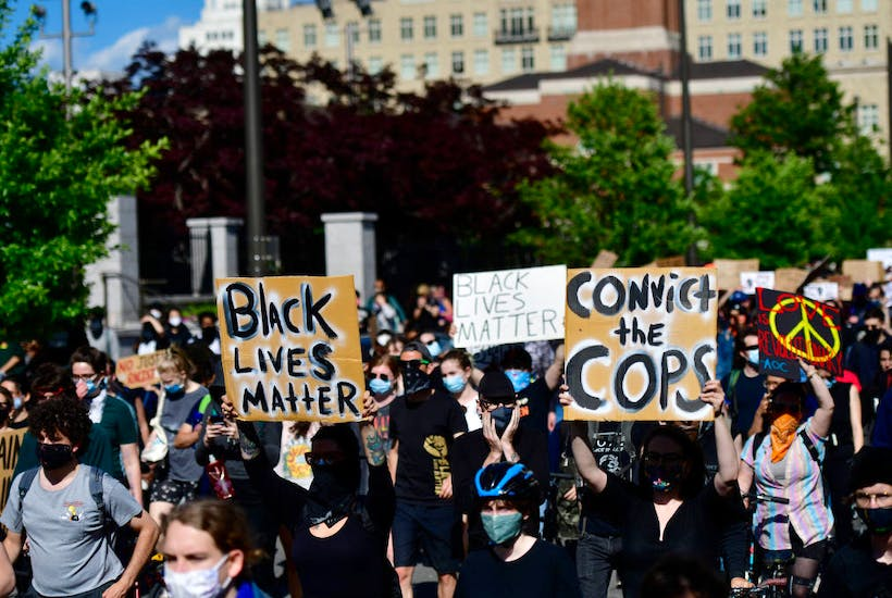 Protests Continue In Philadelphia In Response To Death Of George Floyd In Minneapolis