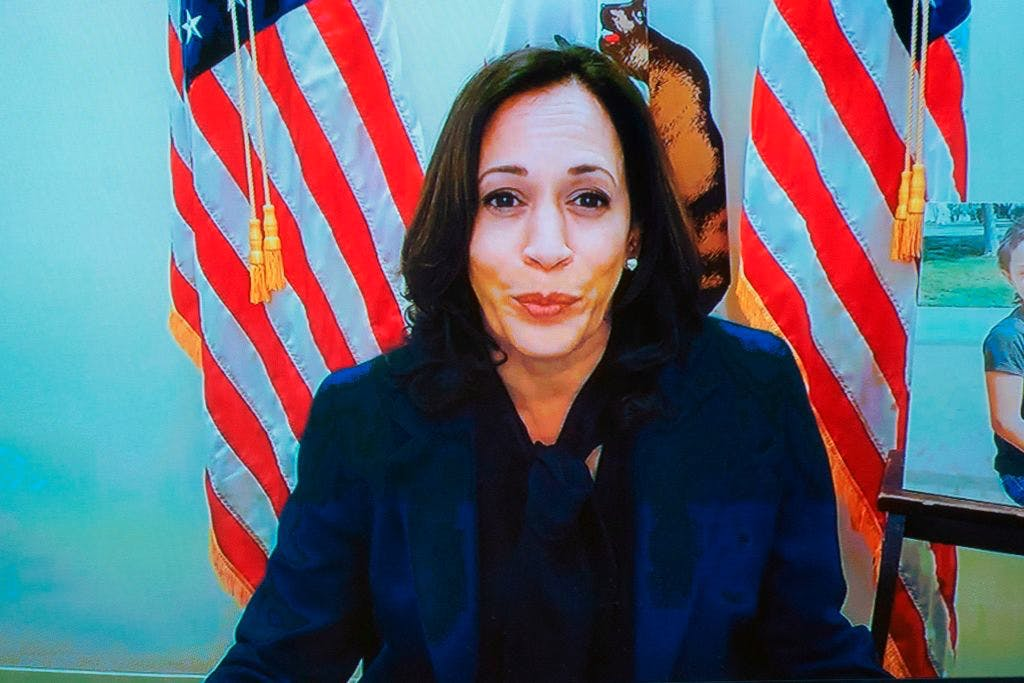 kamala harris san francisco california